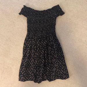 brandy melville off the shoulder dress